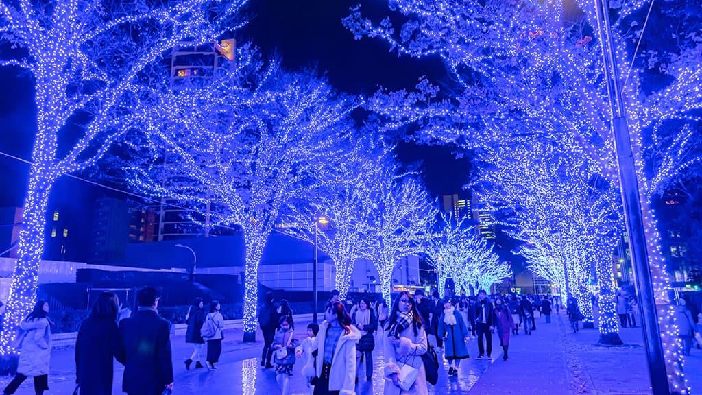 décoration Noël Japon