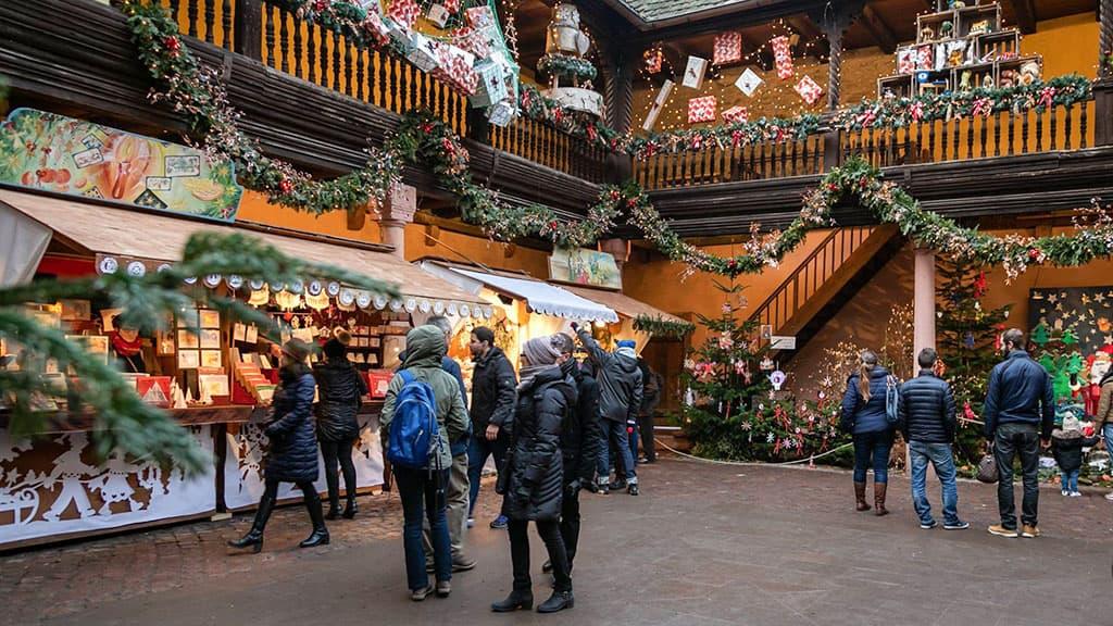 Kaysersberg marché de Noël
