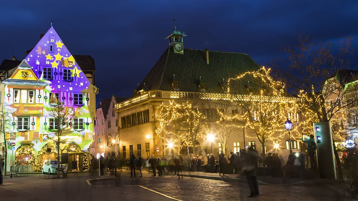 Décoration de Noël à Colmar
