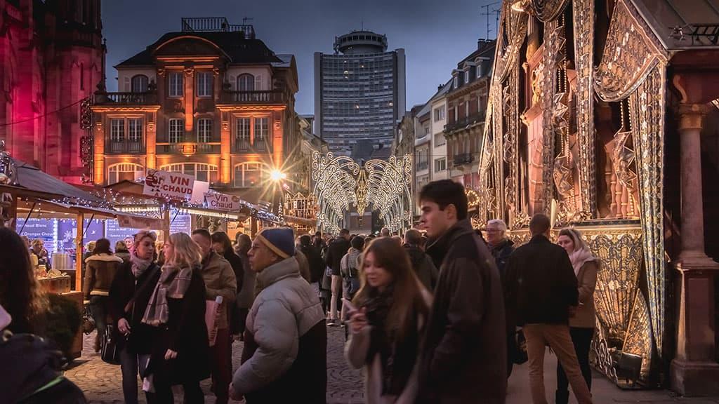 Mulhouse marché de Noël
