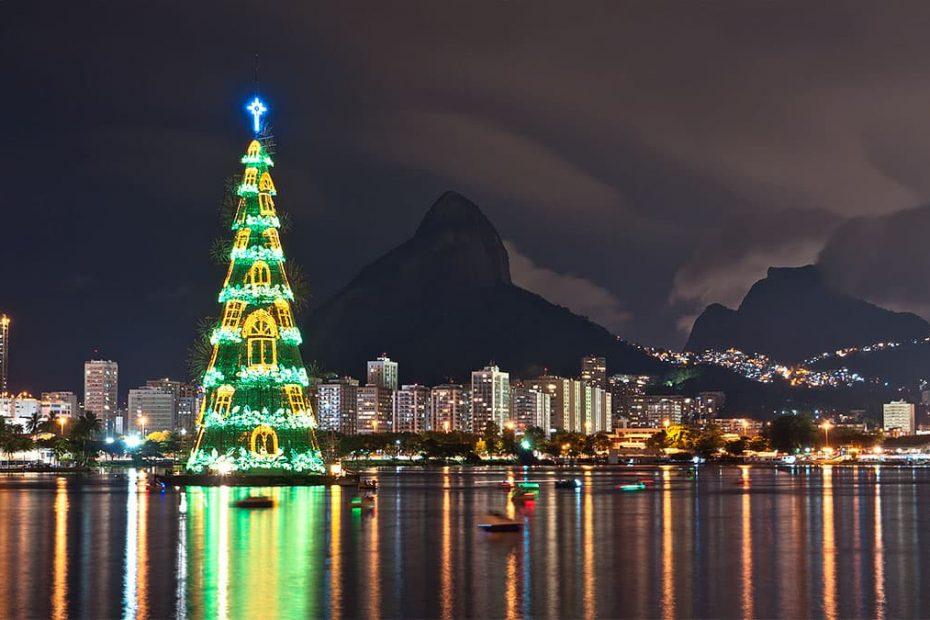 sapin de Noël Brésil