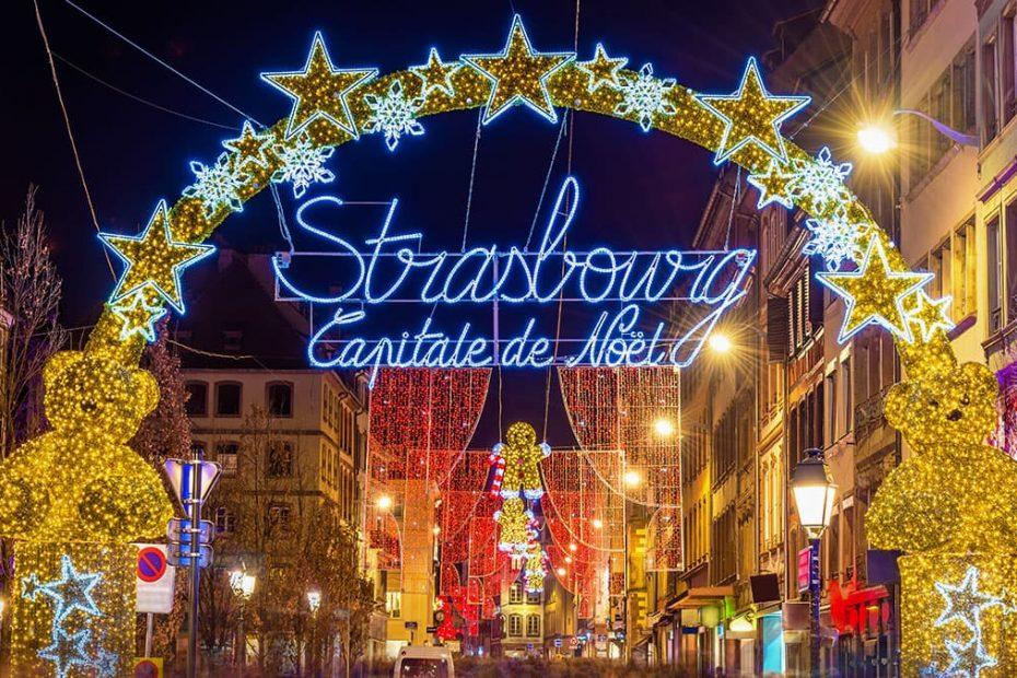 Strasbourg capitale noel