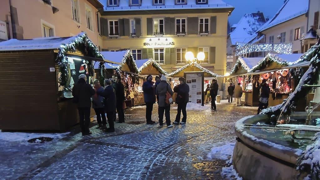 Thann marché de Noël