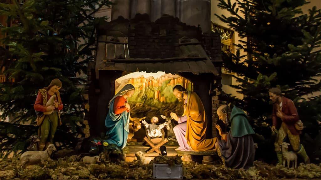 crèche de Noël au Brésil