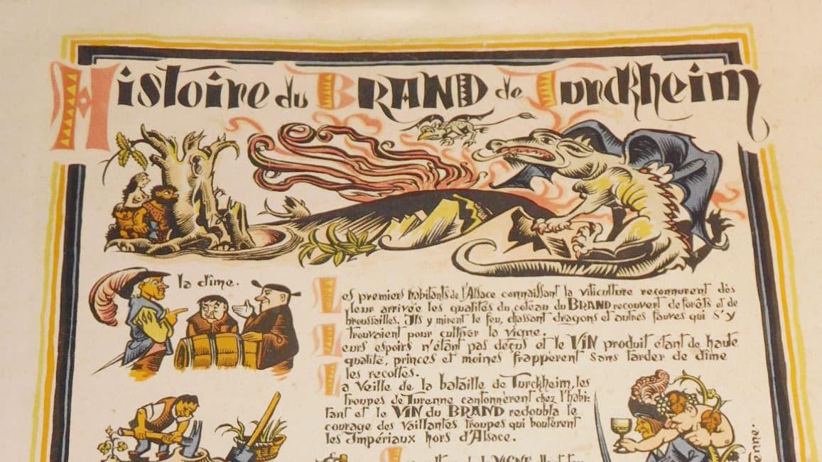 légende dragon du brand turckheim