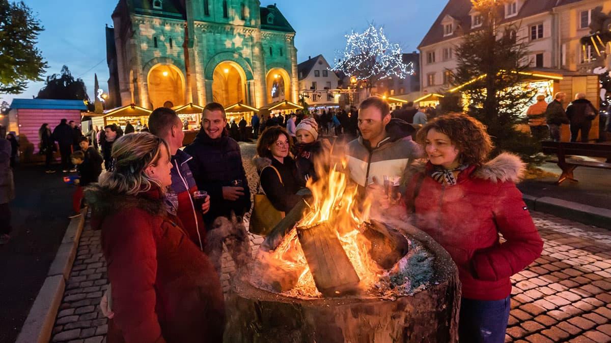 Munster marché de Noël haut-rhin