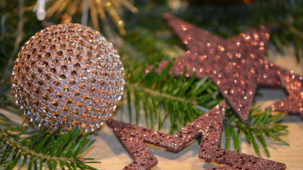 Boule de Noël ancienne
