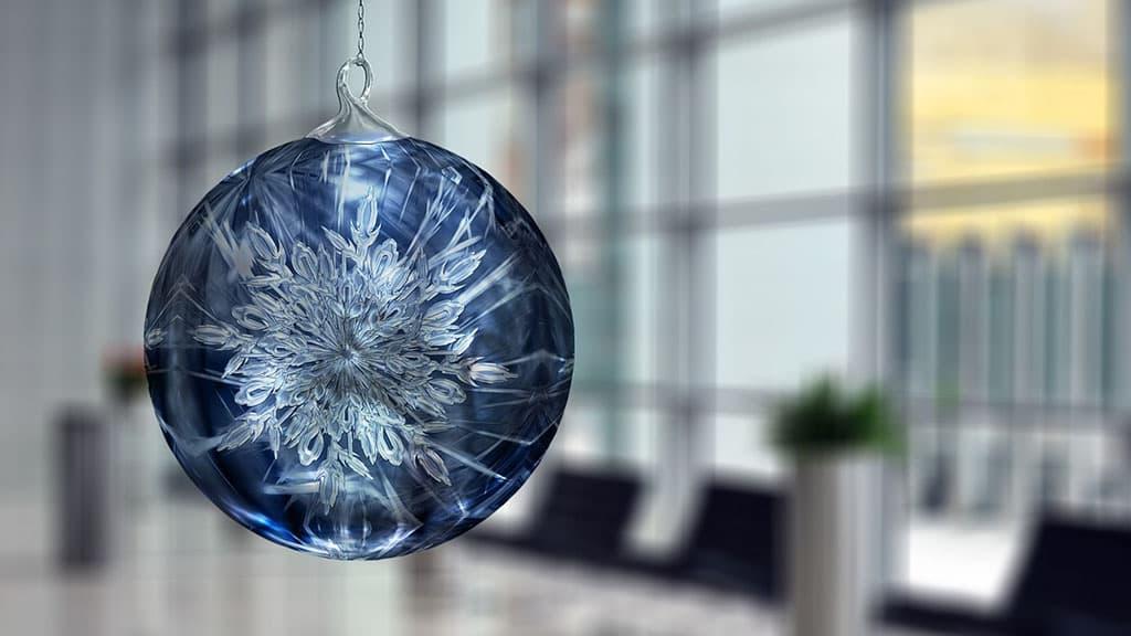 Boule de Noël originale
