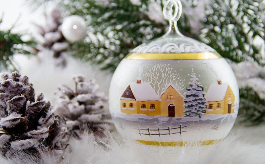 Décoration boule de Noël