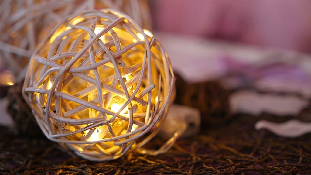 Illumination boule lumineuse
