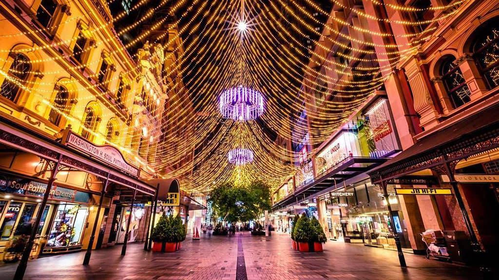 Noël à Sydney Australie