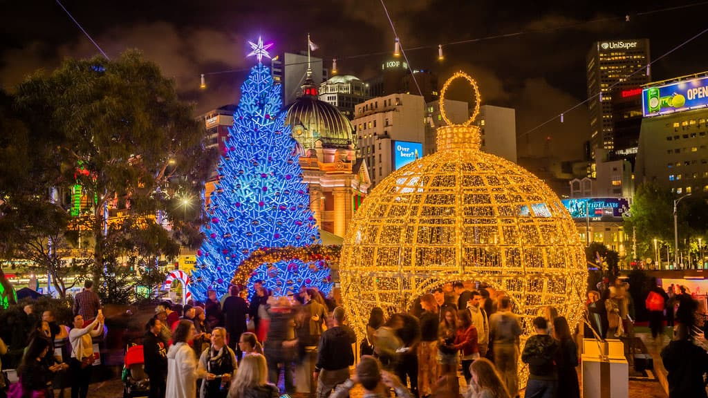 Noël en Australie Melbourne