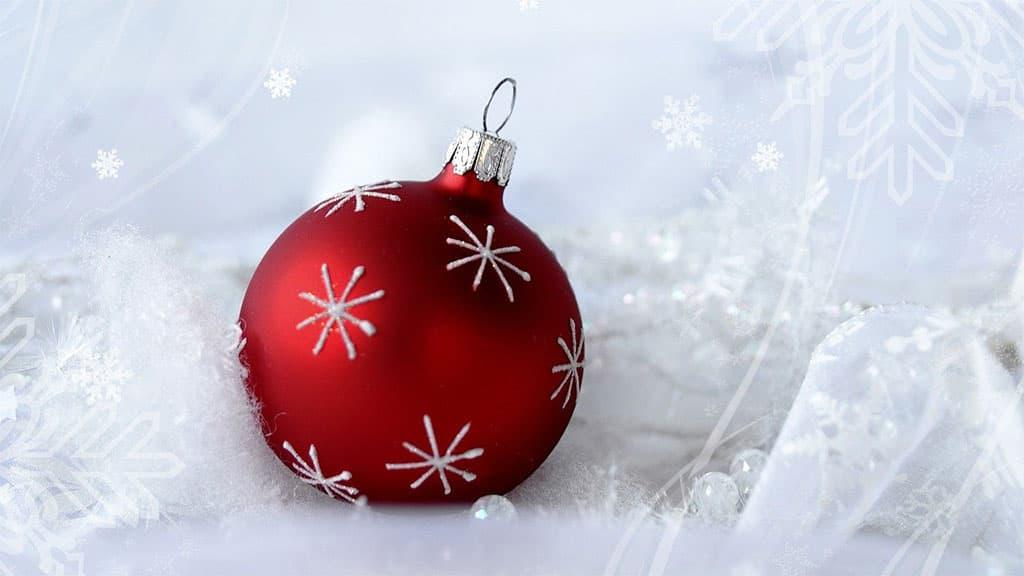Ornement de Noël boule