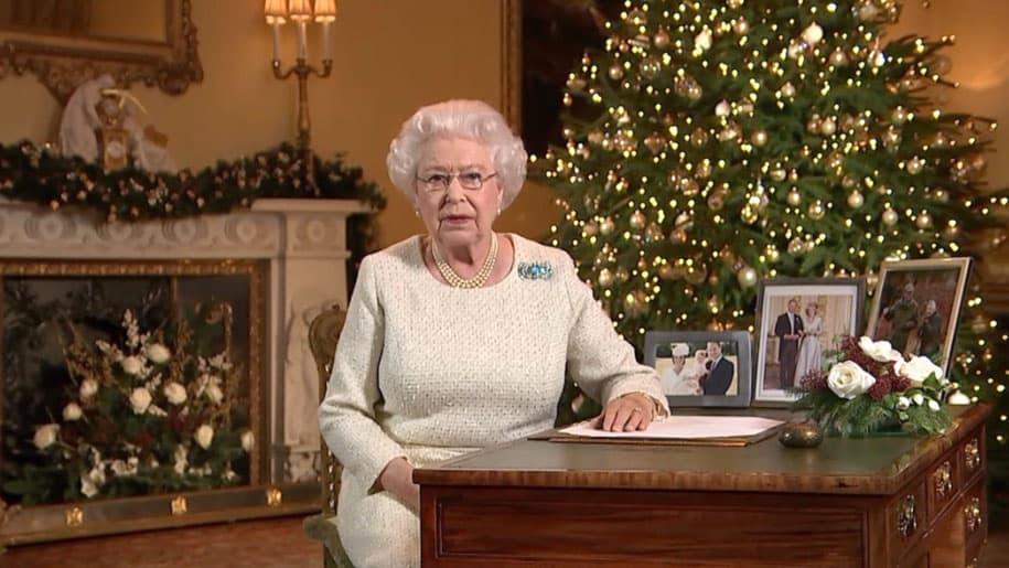 Vœux de Noël reine d'Angleterre