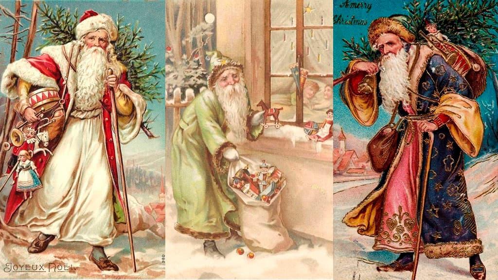 Différentes illustrations de St-Nicolas début 1900