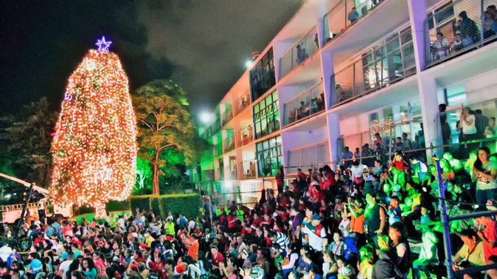Arbre de Noël de l'hôpital pour enfants à San José