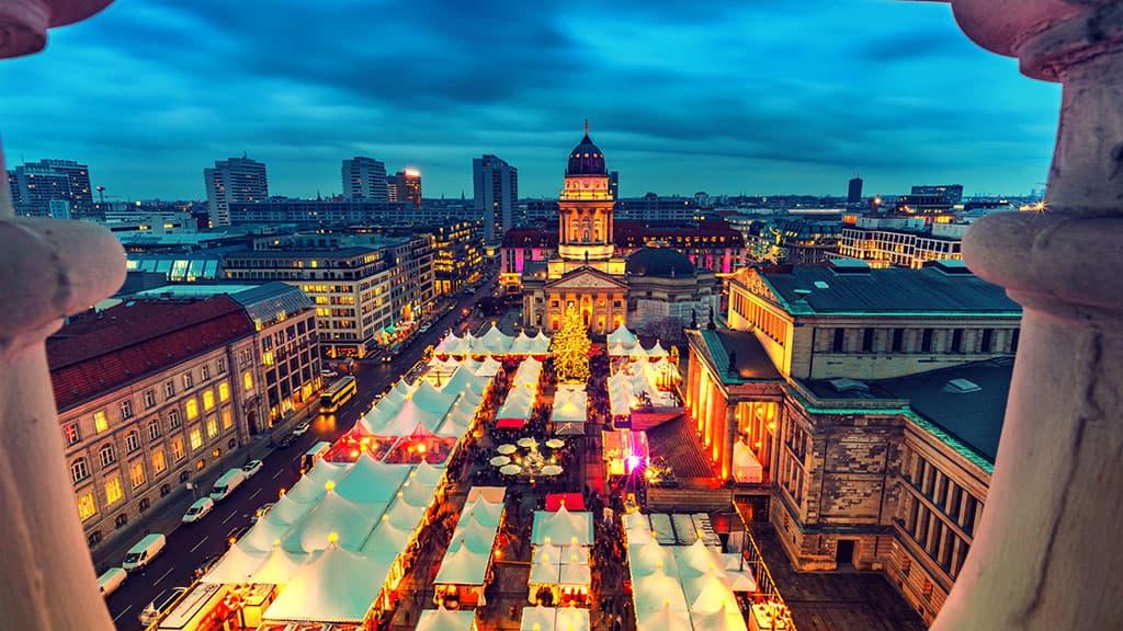 Marché de Noël à Berlin en Allemagne