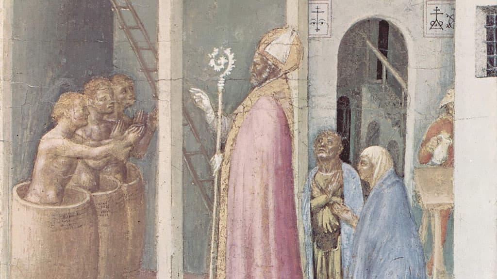 Scènes de la vie de St-Nicolas