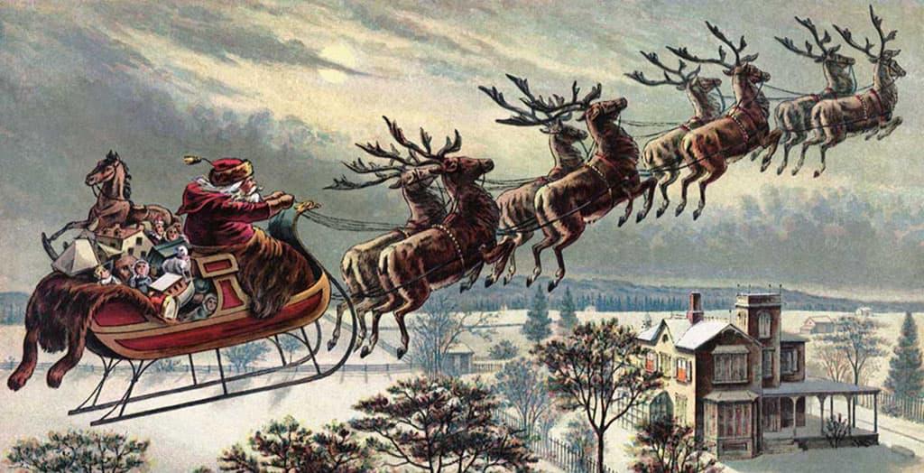 On attribue à l'auteur Clement Clarke Moore, la conception de l'image moderne du Père Noël.